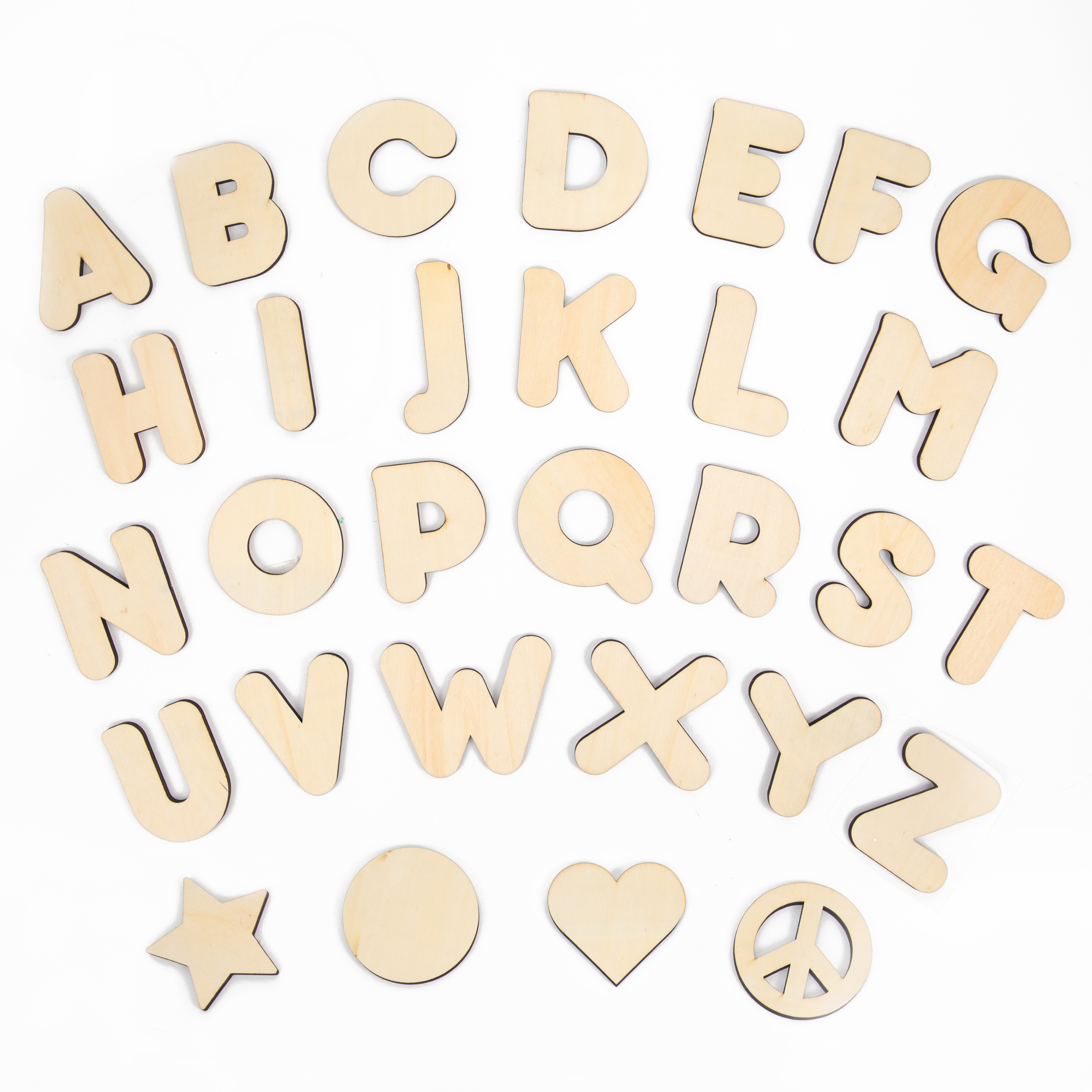 wooden letters shapes creatify With wooden letters and shapes